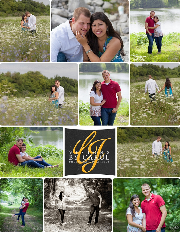Engagement Photographs for Susanaand Ian