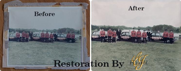Restoration of Old Photographs