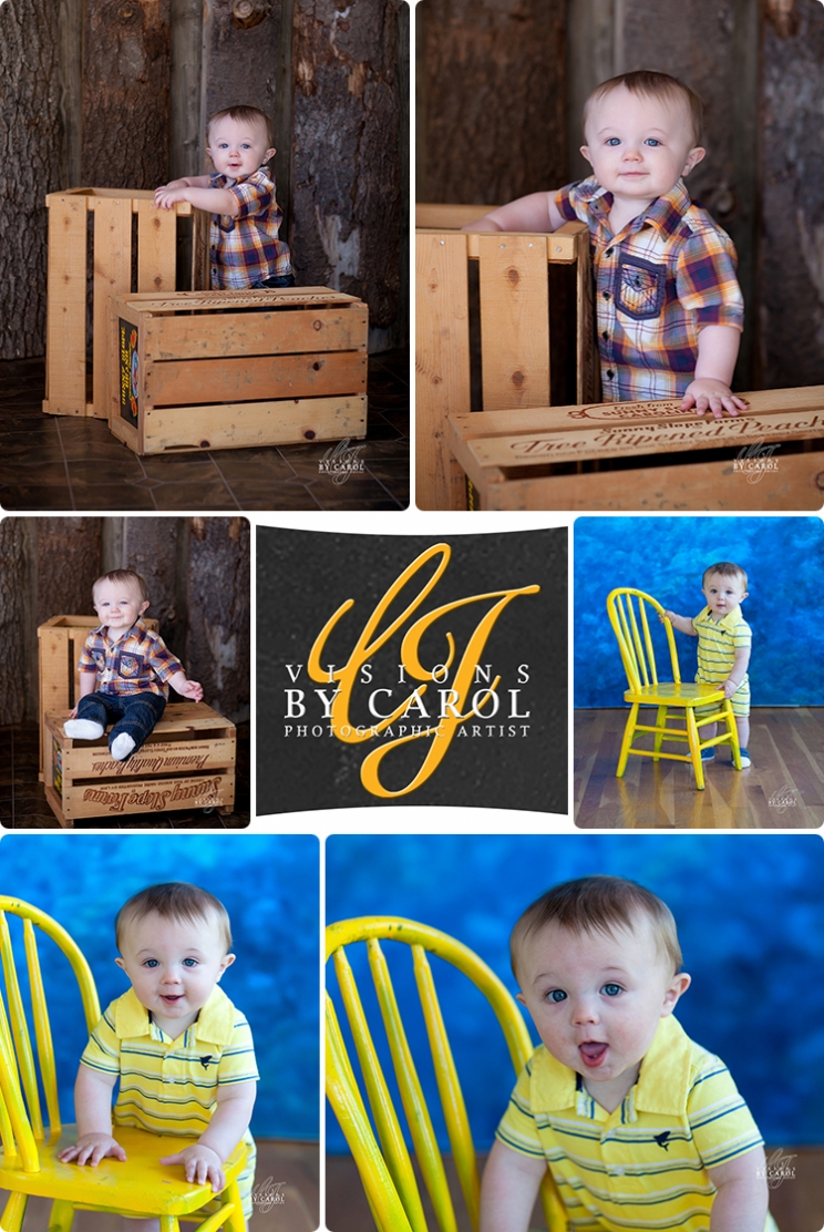 9 Month Photo Session of Caleb