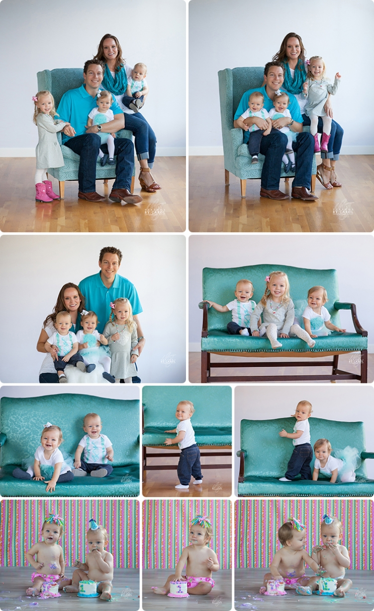 Family Photos and 1 Year Photo Session