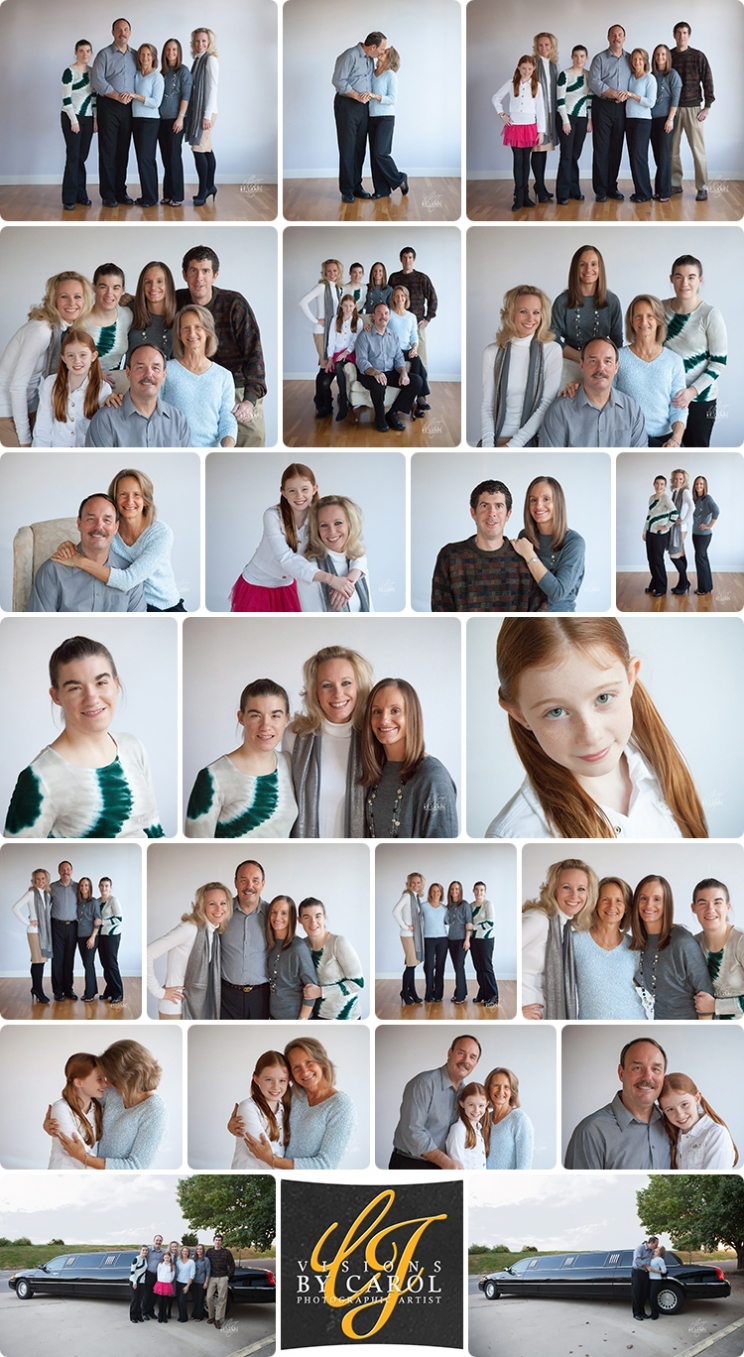 Family Portriats | Studio Session | Doucleff Family