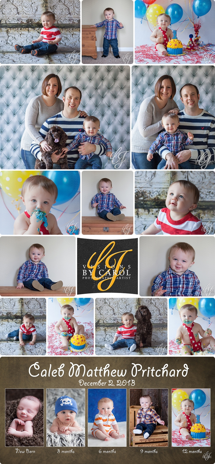 1 Year Photo Session | Caleb