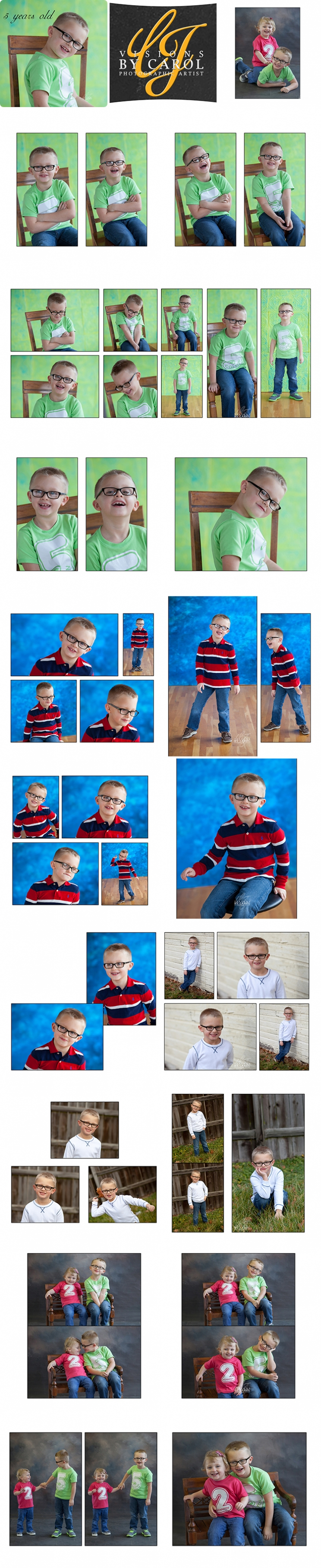 5 Year Old Session | Colton