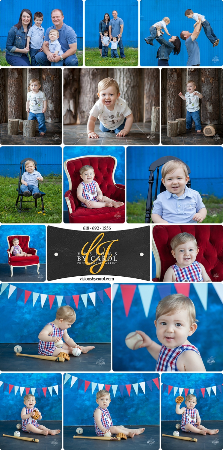 One Year Old Baby Photo Session|Remington