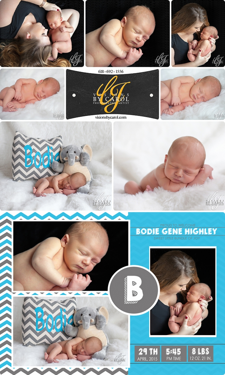 Newborn Session | Bodie